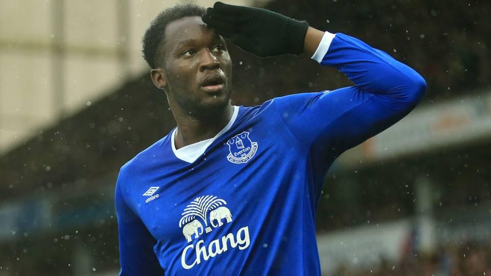 Romelu Lukaku yang penampilannya semakin impreif bersama Everton